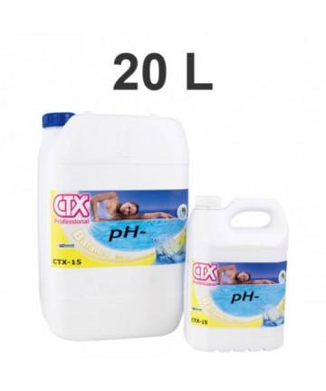 CTX 15 - Ph Moins - 20l